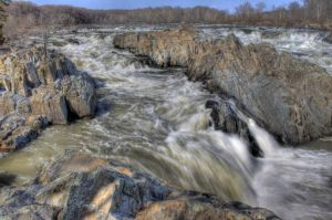 Great Falls After Heavy Rains